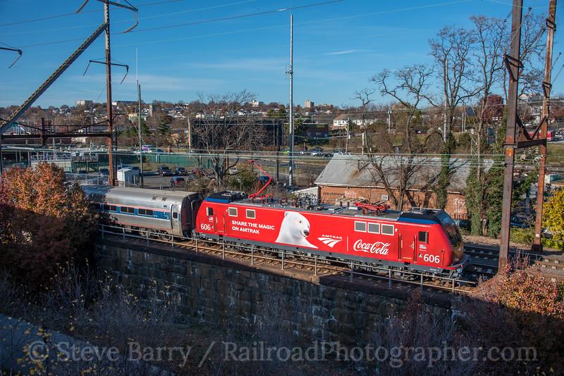 Amtrak; Wilmington DE; 11/26/19