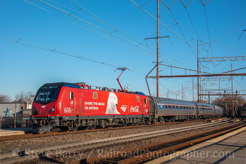 Amtrak; Wilmington DE; 12/19/19