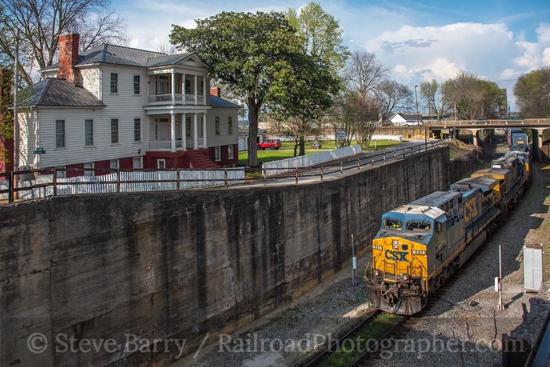 Photo 5511<br /> CSX Transportation<br /> Decatur, Alabama<br /> March 25, 2019