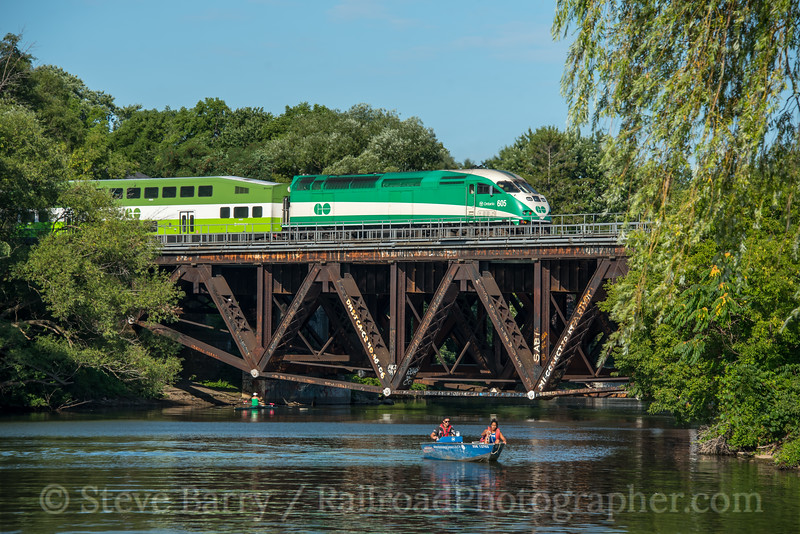 GO Transit; Port Credit ON; 8/14/19