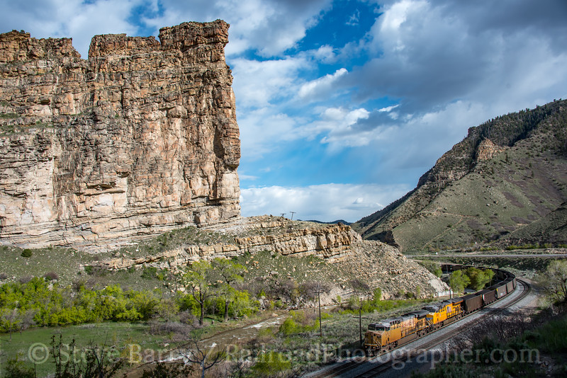 Photo 5571<br /> Union Pacific<br /> Castle Gate, Utah<br /> May 11, 2019