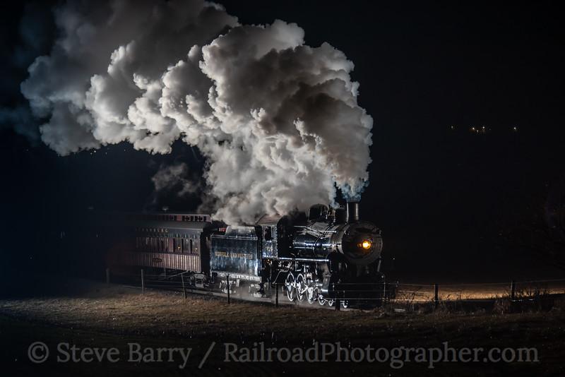 Strasburg Rail Road; Paradise PA; 12/23/19