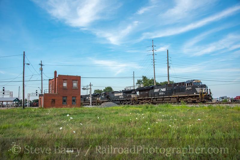 Norfolk Southern; Bellevue OH; 8/11/19