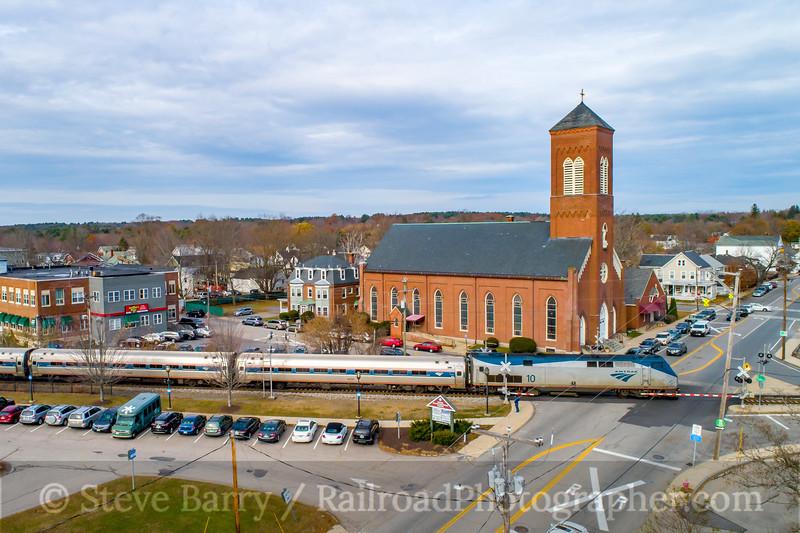 Amtrak; Dover NH; 11/10/19
