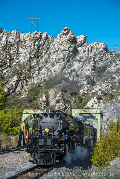 Photo 5575<br /> Union Pacific 4014<br /> Taggart, Utah<br /> May 12, 2019