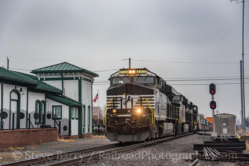 Norfolk Southern; Rural Retreat VA; 11/22/19