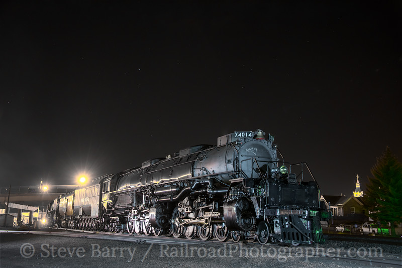 Photo 5552<br /> Union Pacific 4014<br /> Rock Springs, Wyoming<br /> May 5, 2019
