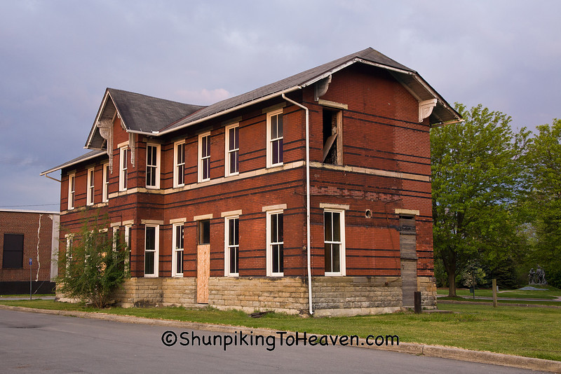 Pittsburgh, Cincinnati, and St. Louis Depot, Zanesville, Ohio