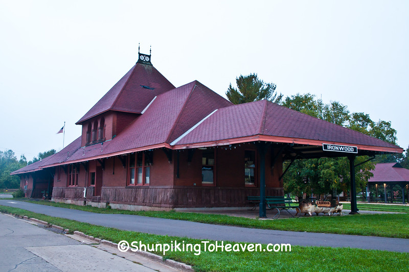 Chicago and Northwestern Railroad Depot, Ironwood, Michigan