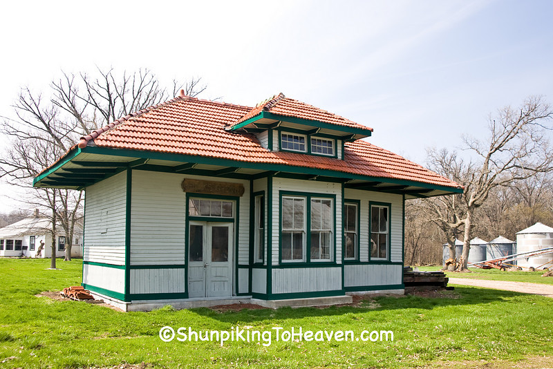 Railroad Depot, Funks Grove, McLean County, Illinois