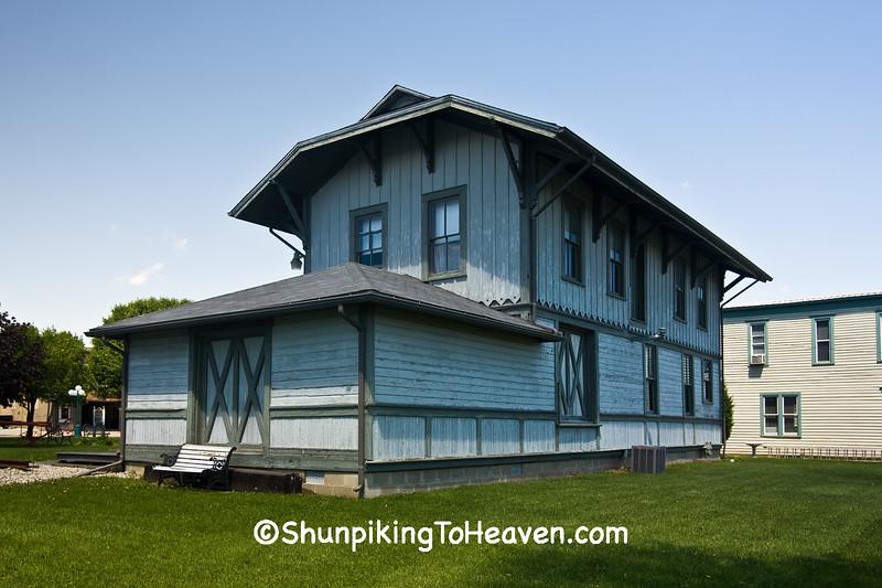 Greenup Depot, Cumberland County, Illinois