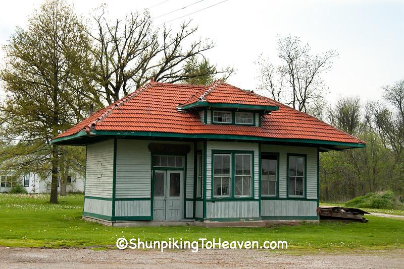 Chicago & Alton Depot, McLean County, Illinois