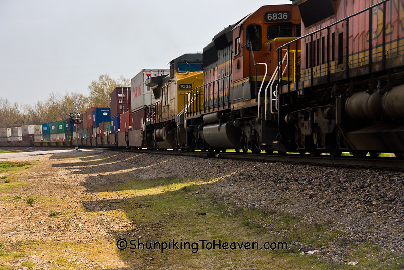 Diesel Train, Route 66, Laclede County, Missouri