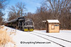 Snow Train, Sauk County, Wisconsin