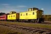 Railroad Cars of Lumberjack Special Steam Train, Laona, Wisconsin