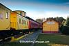 Lumberjack Special Steam Train at Snyder's Landing Depot, Laona, Wisconsin