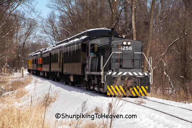 Snow Train, Sauk County, Wisconsin