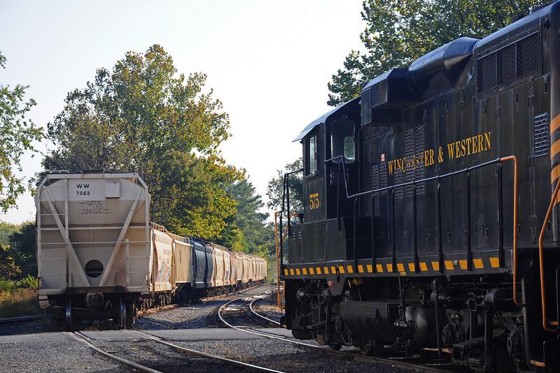 Winchester & Western Railroad - Gore, VA - 2012