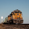 UP1991100104 - Union Pacific, Yermo, CA, 10/1991