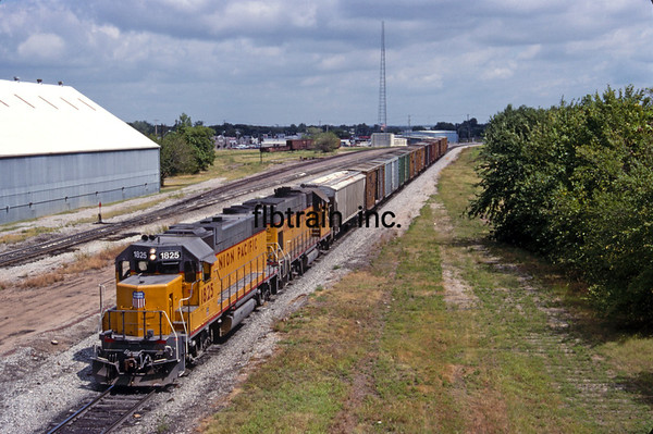 UP1991080902 - Union Pacific, Muskogee, OK, 8/1991