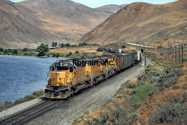 UP1992060024 - Union Pacific, Baker's Junction, ID, 6/1992