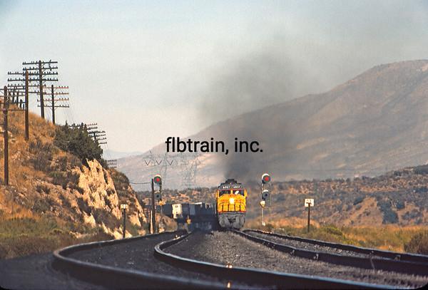 UP1977090820 - Union Pacific, Cajon Pass, CA, 9/1977