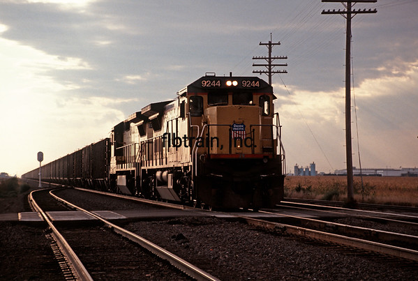 UP1991090523 - Union Pacific, Schuyler, NE, 9/1991