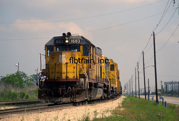 UP1992040007 - Union Pacific, Houston, TX, 4/1992