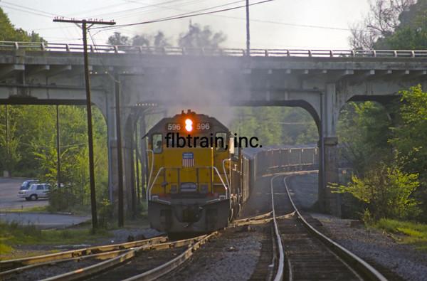 UP1990040741 - Union Pacific, Little Rock, AR, 4-1990