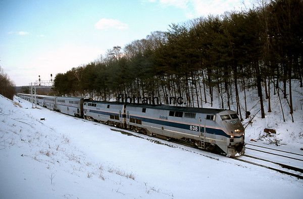 AM2000010020 - Amtrak, Lorton, VA, 1/2000