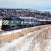 BN1991010007 - Burlington Northern, Palmer Lake, CO, 1/1991