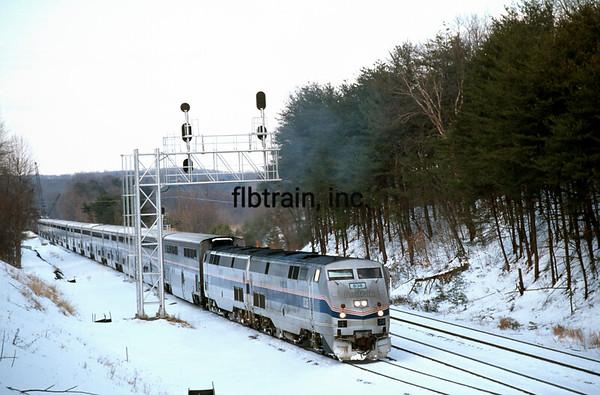 AM2000010006 - Amtrak, Lorton, VA, 1/2000