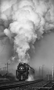 Norfolk & Western Class J 611 at Manassas, VA