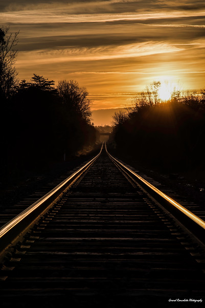 Rails Into the Sunrise