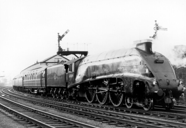 60009 Union of South Africa with the 'Scottish Lowlander' on 26th September 1964