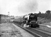 46256 Sir William A  Stanier F R S  at Grayrigg with the RCTS 'Scottish Lowlander' on 26th September 1964