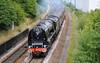 6233 Duchess of Sutherland Scarborough Flyer 6/8/10 Bradley return