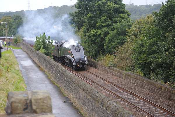 60009 Union of South Africa Rastrick Scarborough Flyer 14/9/12