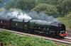 46233 Duchess of Sutherland Scarborough Flyer Heaton Lodge Jct 24/8/12