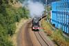 46233 Duchess of Sutherland Woodhouse Lane Bridge Brighouse Scarborough Flyer 3-8-12