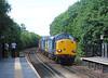 2) 37605 & 37607 The Pennine & Northeastern Express Deighton 14-8-13 009