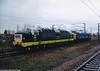D9000 Royal Scots Grey + D345 Grantham 25-1-2005