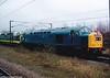 D345+D9000 Royal Scots Grey Grantham 25-1-2005 (3)