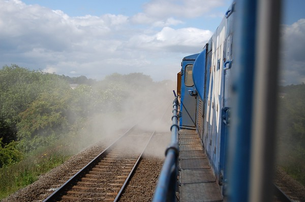 NIR: Poyntzpass / Lisburn 'Ballast' with GM 111. June 2009
