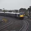 216 arrives at Carlow with the 0800 ''Grand Hibernian'' Muine Bheag / Dublin Heuston. Mon 12.09.16