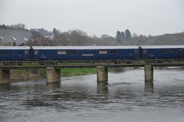 Belmond Grand Hibernian, River Slaney, Enniscorthy. Sat 14.04.18