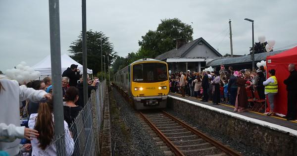 Irish Rail: Castleconnell 160th Anniversary. Tuesday 28th August 2018