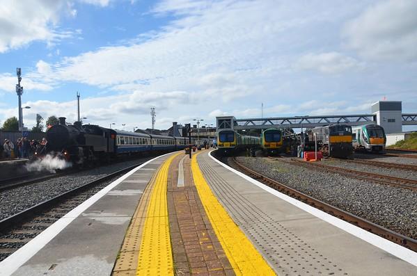 RPSI Loco No.4, 29011, 29005, Loco 084 & 22008 , Drogheda. Sun 16.09.18