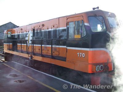 The Boat Train Railtour. Saturday 25th November 2006