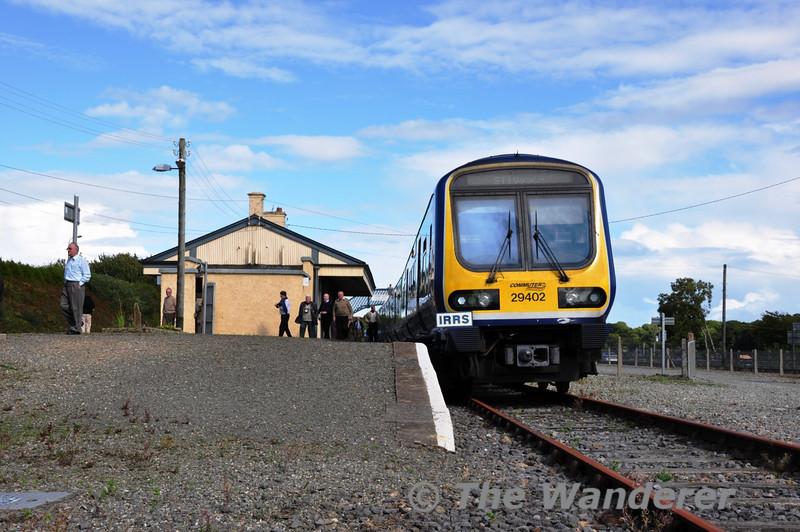 29002 at Wellington Bridge. Sat 11.09.10